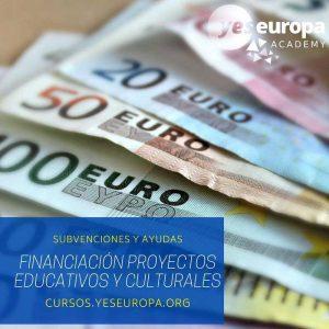 Curso financiación proyectos educativos y culturales