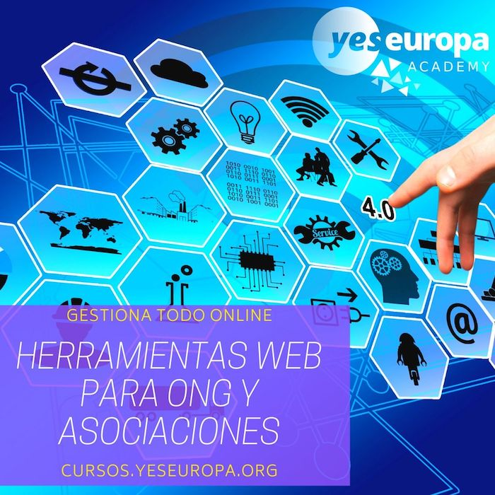 HERRAMIENTAS WEB PARA ONG Y ASOCIACIONES