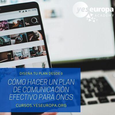 curso plan de comunicacion ong pequeño