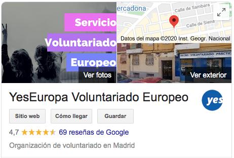 yeseuropa google