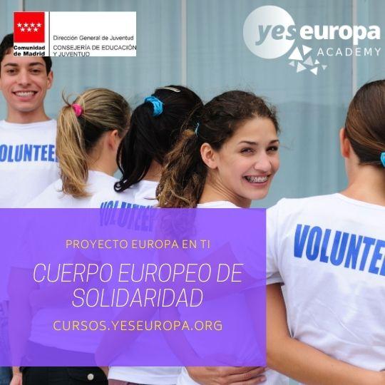 cuerpo europeo de solidaridad